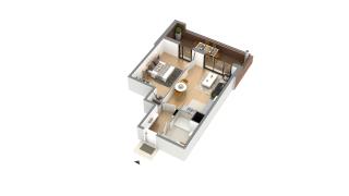 appartement I-0h-1 de type T2