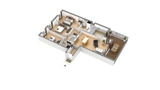 appartement J-3-2 de type T4