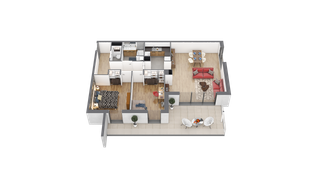 appartement 12 de type T3