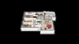 appartement 14 de type T4