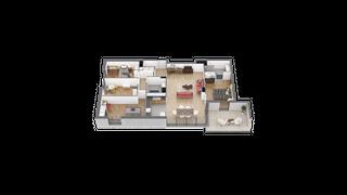 appartement 21 de type T5