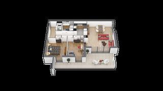 appartement 22 de type T3