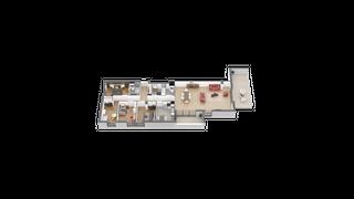 appartement 41 de type T5