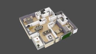appartement 2A104 de type T4