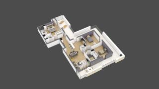 appartement 2A201 de type T4