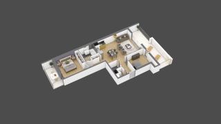appartement 2A204 de type T3