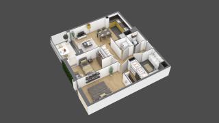 appartement 3A006 de type T3