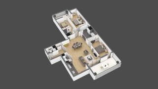 appartement 3A101 de type T4