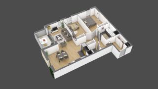appartement 3A103 de type T3