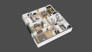 appartement 3A105 de type T3