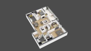 appartement 3A109 de type T4
