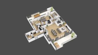 appartement 3A201 de type T5