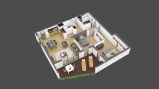 appartement 3B003 de type T3