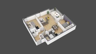 appartement 3B006 de type T3