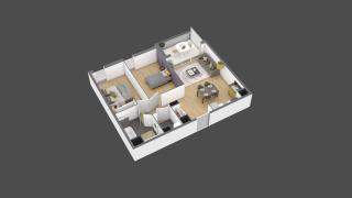 appartement 3B105 de type T3