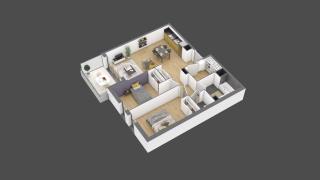appartement 3B118 de type T3