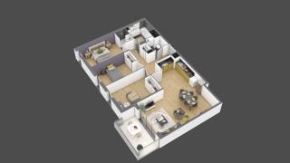 appartement 3B119 de type T4