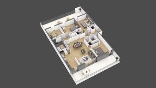 appartement 3B203 de type T5