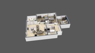 appartement A204 de type T4