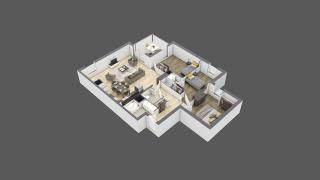 appartement B204 de type T4